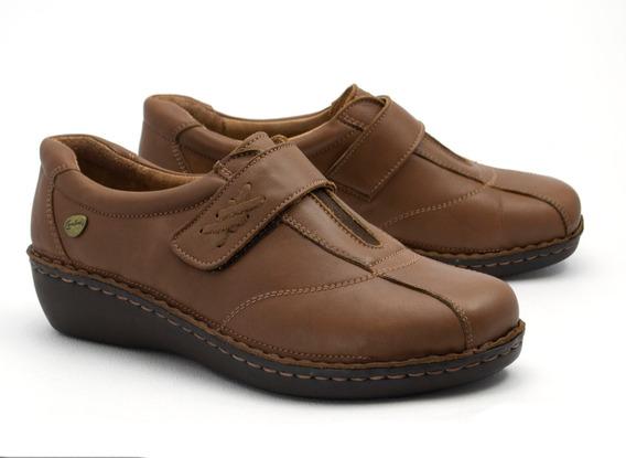 Zapatos Zapatillas Mujer Cavatini Pie Delicado Cuero Vacuno