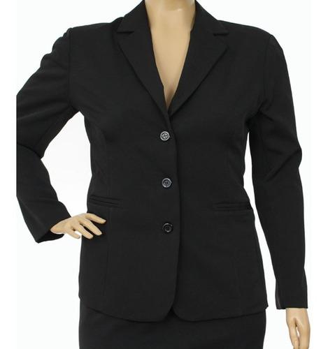 44a878ddd Conjunto Social Blazer E Calça Gordinha Fashion Roupa Xgg - R$ 92,00 em  Mercado Livre