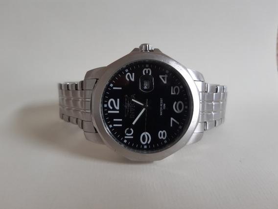 Relógio Masculino Original Invicta Prata Usado 12x S/ Juros