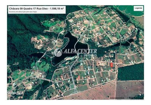 Terreno À Venda, 1598 M² Por R$ 240.000,00 - Zona Rural - Hidrolândia/go - Te0118