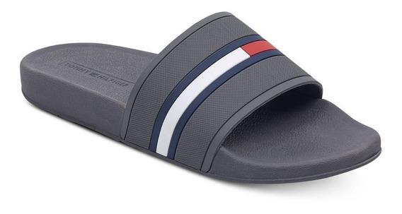Ojotas Tommy Hilfiger Slide Sandal Flip Flop. A Pedido Usa