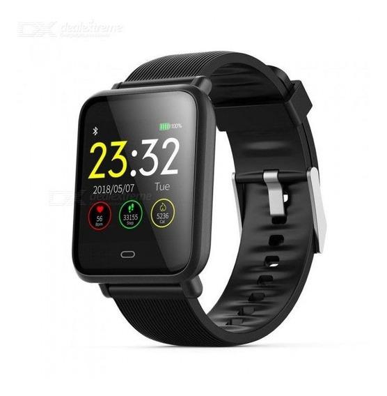 Relógio Inteligente Smartwatch Bluetooth Q9 1.3 Preto