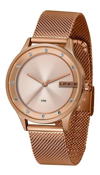 Relógio Feminino Lince Urban Rosé Lrr4623l