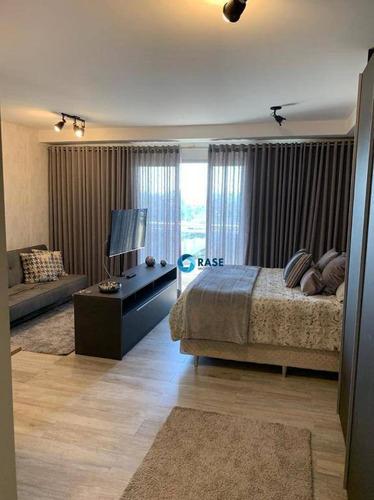 Studio Com 1 Dormitório À Venda, 47 M² Por R$ 699.000,00 - Granja Julieta - São Paulo/sp - St0092