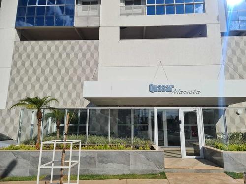 Imagem 1 de 30 de Apartamento, Setor Marista, Goiânia - Go   12700 - Go - Ap0126_abi