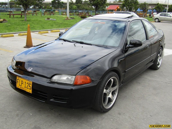 Honda Civic Coupe Ex Vitec 1600