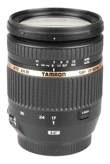 Objetiva Tamron Af 17-50mm F2.8 Di Ii Sp Vc Para Canon