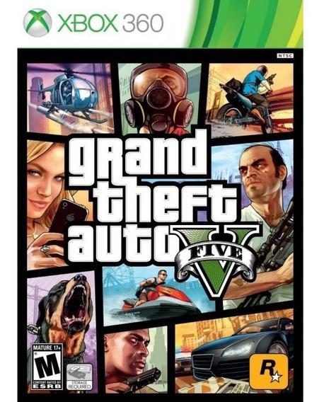 Grand Theft Auto V - Gta 5 - Xbox 360