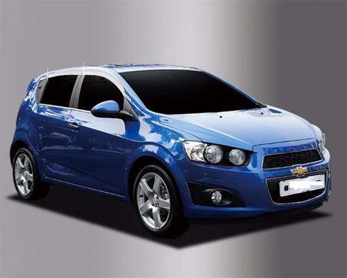 Bota Agua  Chevrolet Sonic  Sport Cromadas