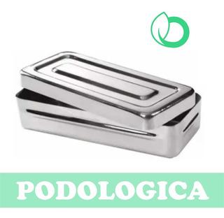 Caja Acero Inoxidable Podologica - Envio Gratis Caba