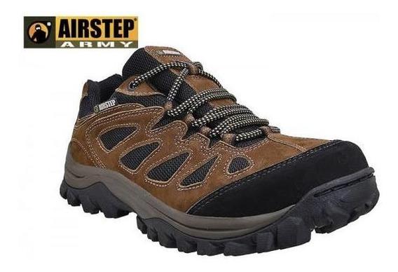 Tênis Hiking 5600-7 Airstep Brown/black