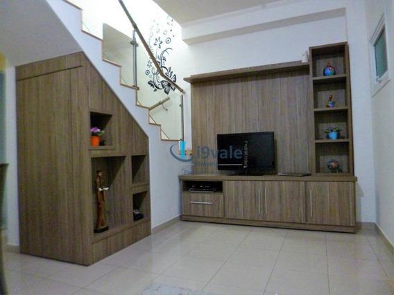 Casa Com 2 Dormitórios À Venda, 96 M² Por R$ 265.000 - Jardim Primavera - Jacareí/sp - Ca1485