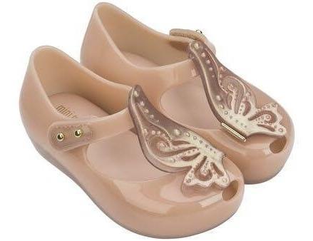 Zapatos Calzado Mini Melissa Original Niña Nude 13 14 Y 17