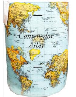 Contenedor Atlas . Organizador De Juguetes