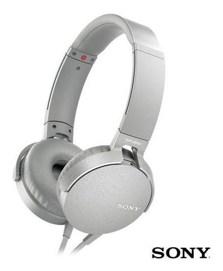 Fone De Ouvido Sony Headphone Extra Bass Branco Mdr-xb550apw