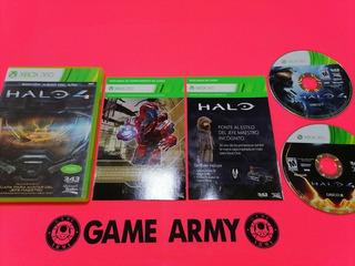 Halo 4 Edición Juego Del Año + Dlcs Completo En Español 360