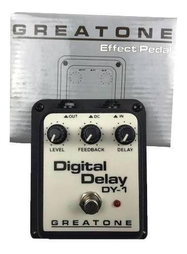 Pedal Delay Onerr Digital Greatone Guitarra Violao Baixo Voz