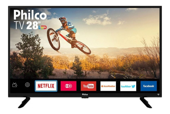 Smart Tv Monitor Led 28 Philco Ptv28g50sn Hd 2 Hdmi 1 Usb