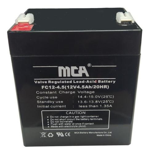 Imagen 1 de 3 de Batería Mca 12v 4.5ah Para Ups- Tienda Física Pzo