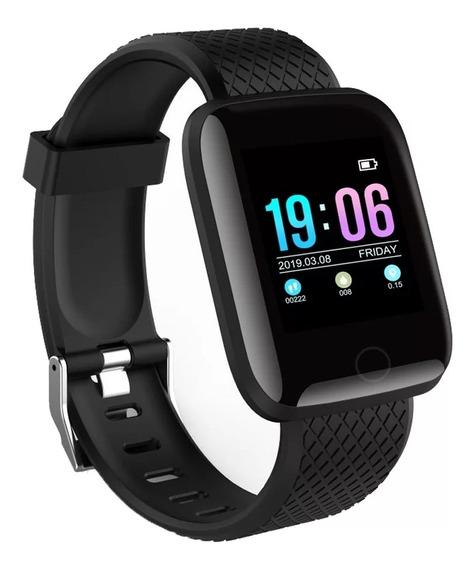Reloj Inteligente Fitness Con Ritmo