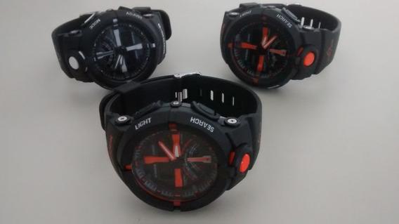 Kit Relógios Digitais Gshock.... Modelo G200 Analogico E Dig