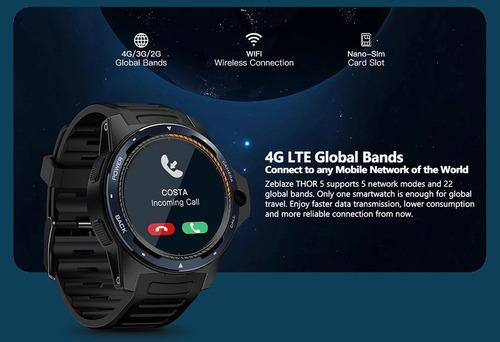 Zeblaze Thor 5 Relógio+cel  -4g- Lançamento