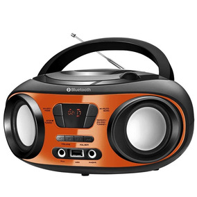 Rádioboomboxbx-18,usb,auxiliar,cd,fm,folder,8wrms-mondial