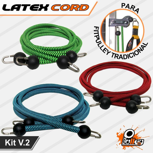 Kit Latex Cord P/ Fitpulley V.2