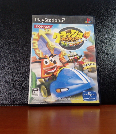 Ps2 | Crash Bandicoot: Bacuso! Nitro Cart (japonês)