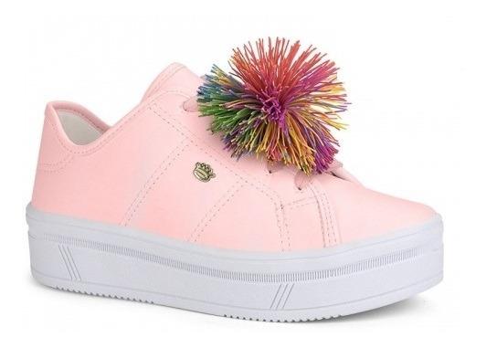 Tenis Pink Cats V0429 07/2019 Iogurte