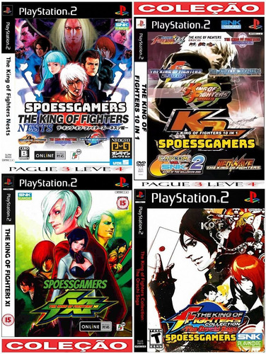 The King Of Fighters Collection (4 Jogos) Ps2 Patch