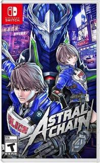 Astral Chain Switch (nuevo Y Sellado De Fabrica+envio Gratis