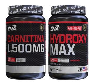 Rápido Quemador De Grasas Combo Carnitina + Hydroxy Max