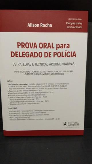 Prova Oral Para Delegado De Polícia