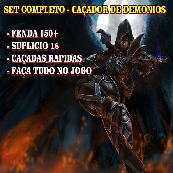 Diablo 3 - Kit Caçador De Demônios- Fenda 150 - Speed