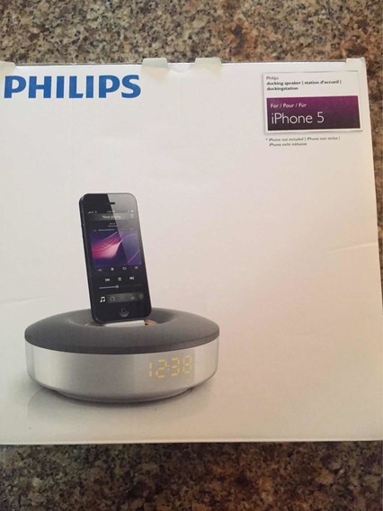 Altavoz Corneta Philips Para iPhone O iPod 5 En Adelante