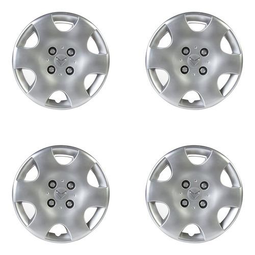 Imagen 1 de 5 de Kit X4 Tazas Universal Citroen Berlingo 14