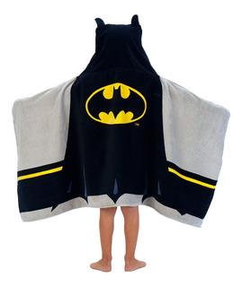 Toalla Niño Batman Capucha Bata