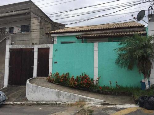 Linda Casa Com 3 Quartos ( 2 Suítes) Em Vila Emil - Mesquita - Pmca20206
