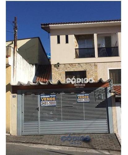 Imagem 1 de 23 de Sobrado Residencial À Venda, Vila Capitão Rabelo, Guarulhos - . - So0198