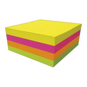 Bloco Adesivo - Tili Notes - 38x50 Mm - Neon - 400 Folhas -