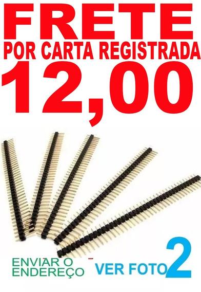 5 Pç Ler Anuncio Carta Reg Barra Pinos 1x40 20mm 2,54 M-14 ?