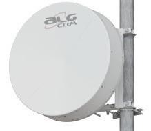 Antena 34 Dbi Parábola Sólida Blindada 5.8ghz Algcom