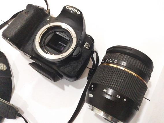 Camará Dslr Canon 60 D