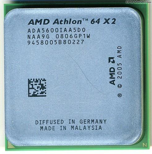 Prc. 5600+ Dual Core Amd Athlon 64 X2 Skt.am2 Envio T.brasil