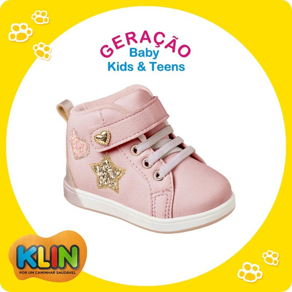 Tênis Sneaker Bebê Infantil Mini Gloss Klin 20872 / 21217