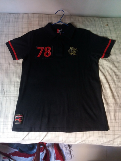 Camisa Polo Do Flamengo 1978 Era Zico - Braziline -tamanho M