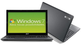 Notebook Acer 5733 I3 4gb 500gb Windows 15,6