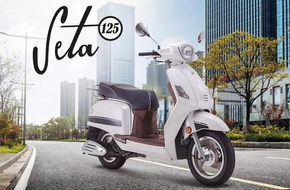 Benelli Seta 125 - 0 Km - Bonetto Motos - No Elit Ni Ray