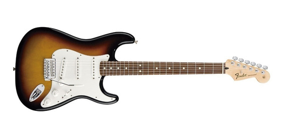 Guitarra Fender Stratocaster Standard Brown Sbs Mex - Oddity